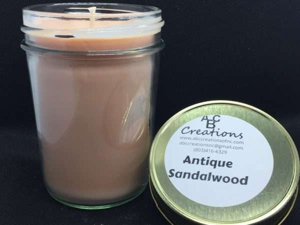 Antique Sandalwood Soy Candle