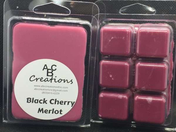 Black Cherry Merlot Soy Wax Melt