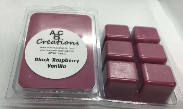 Black Raspberry Vanilla Soy Wax Melt