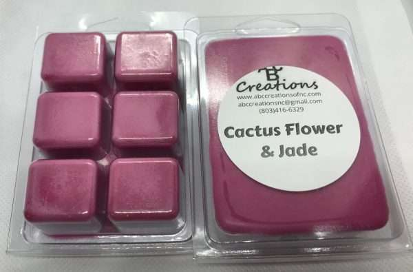Cactus Flower and Jade Soy Wax Melt