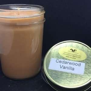 Cedarwood Vanilla Soy Candle