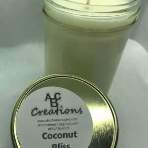 Coconut Bliss Soy Candle