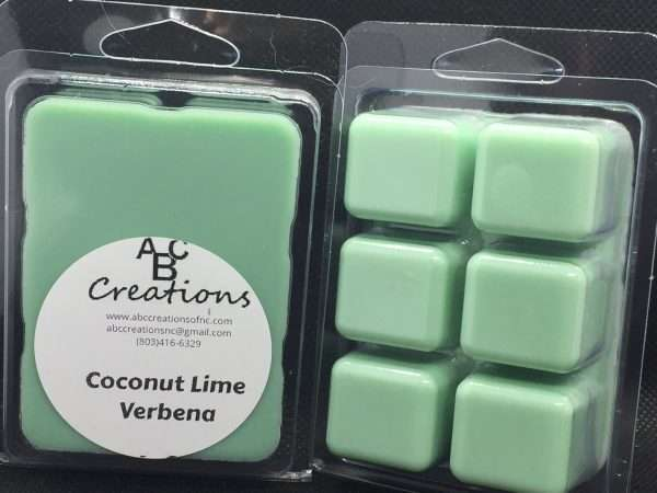 Coconut Lime Verbena Soy Wax Melt