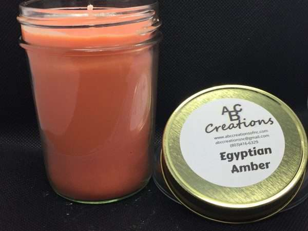 Egyptian Amber Soy Candle