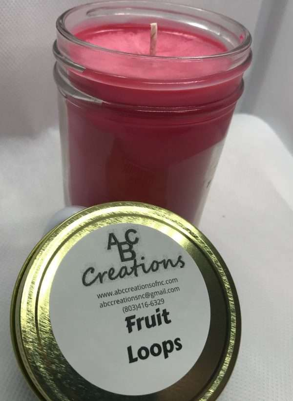 Fruit Loops Soy Candle
