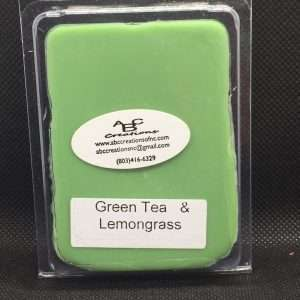 Green Team & Lemongrass Soy Wax Melt