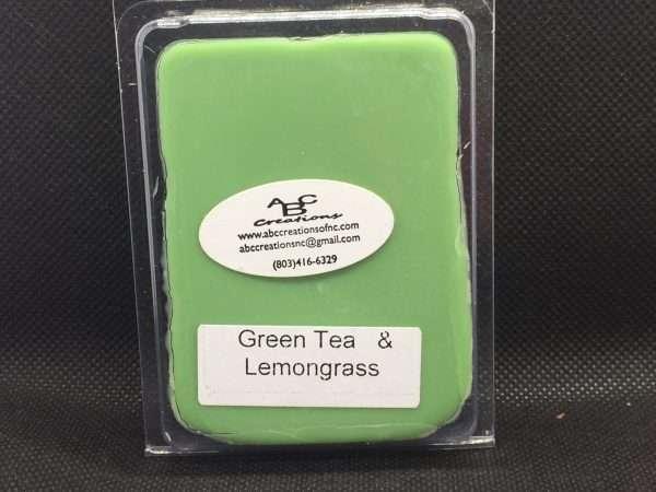 Green Tea & And Lemongrass Soy Wax Melt