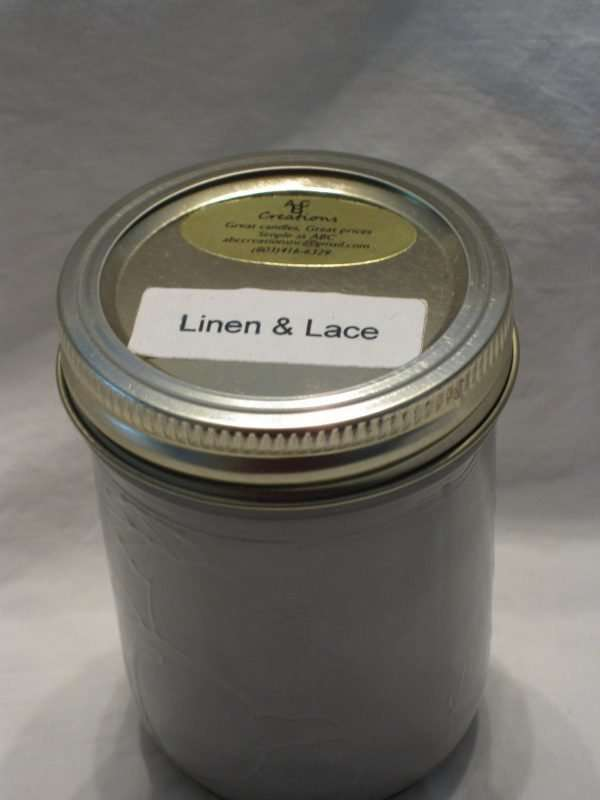 Linen And Lace Soy Candle