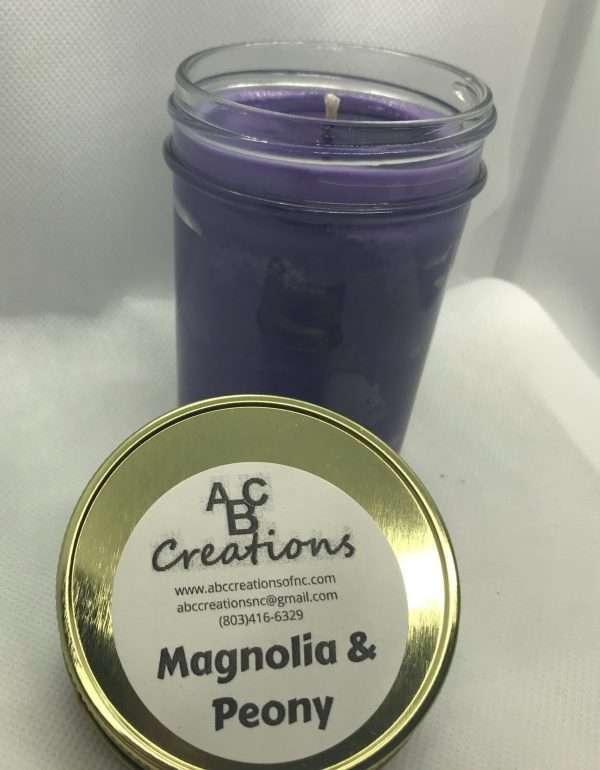 Magnolia And Peony Soy Candle