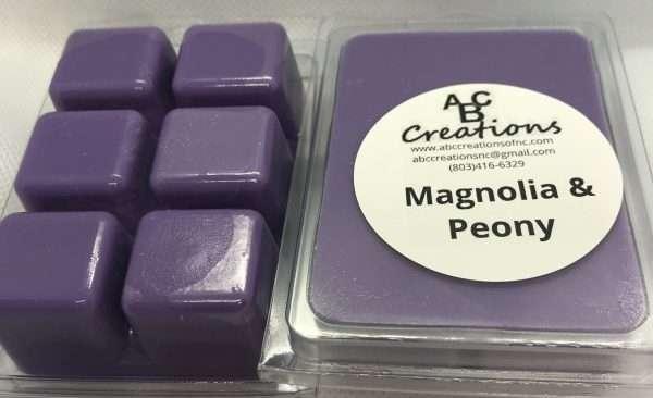 Magnolia And Peony Soy Wax Melt