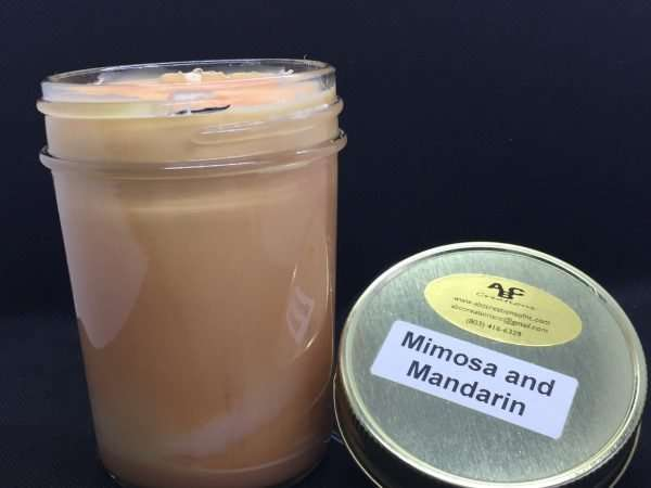 Mimosa And Mandarin Soy Candles