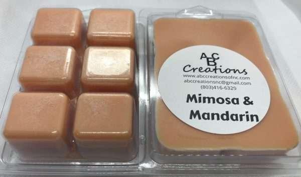 Mimosa And Mandarin Soy Wax Melt
