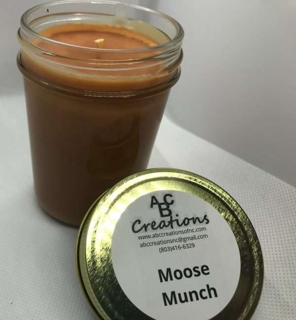 Moose Munch Soy Candle