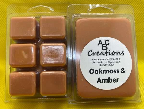 Oakmoss And Amber Soy Wax Melt