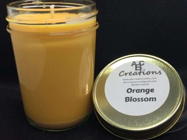 Orange Blossom Soy Candle
