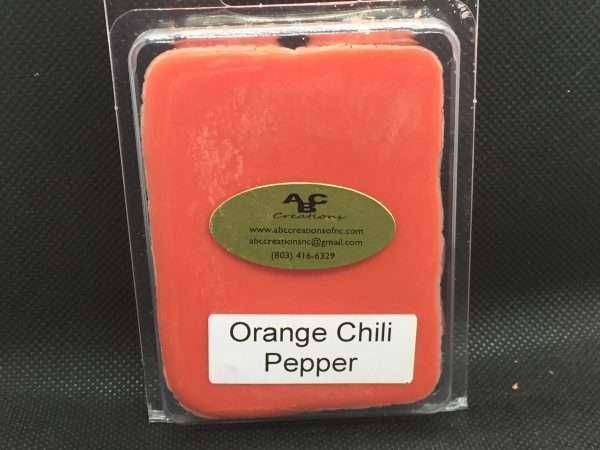 Orange Chili Pepper Soy Wax Melt