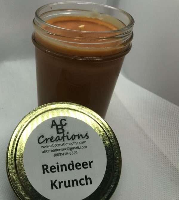 Reindeer Krunch Soy Candle