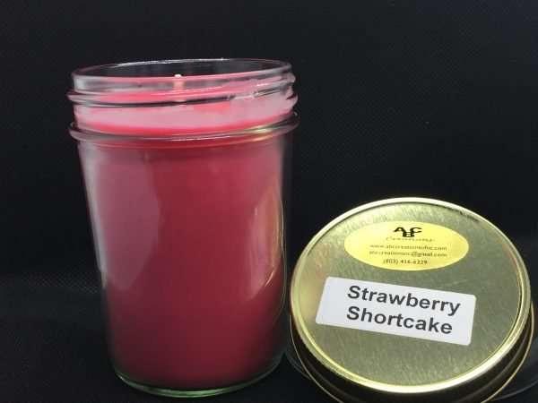 Strawberry Shortcake Soy Candle