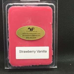 Strawberry Vanilla Soy Wax Melt