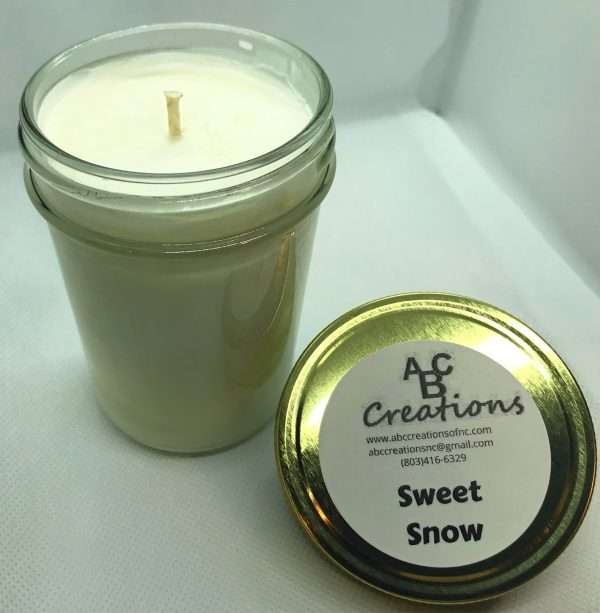 Sweet Snow Soy Candle