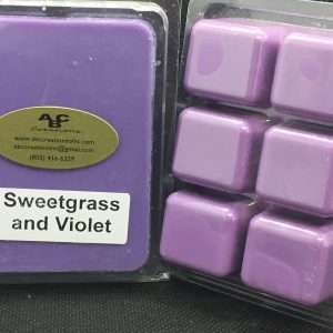 Sweetgrass & Violet Soy Wax Melt