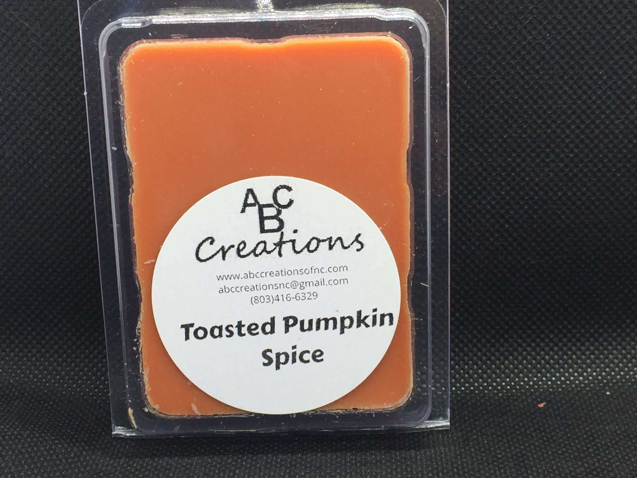 Toasted Pumpkin Spice Soy Wax Melt