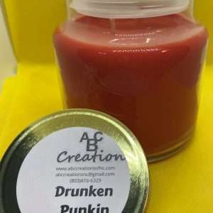Drunken Punkin Soy Candle 16 Ounces