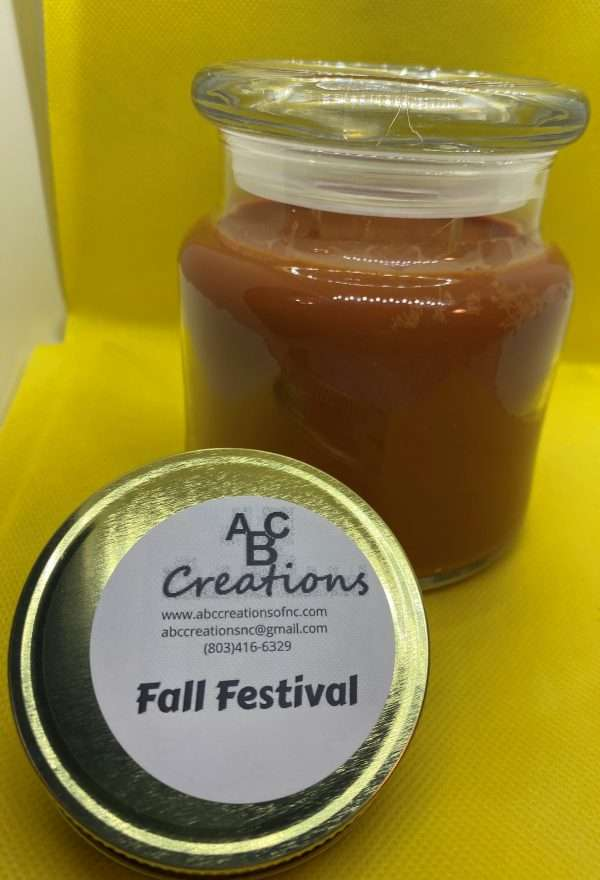 Fall Festival Large Soy Candle