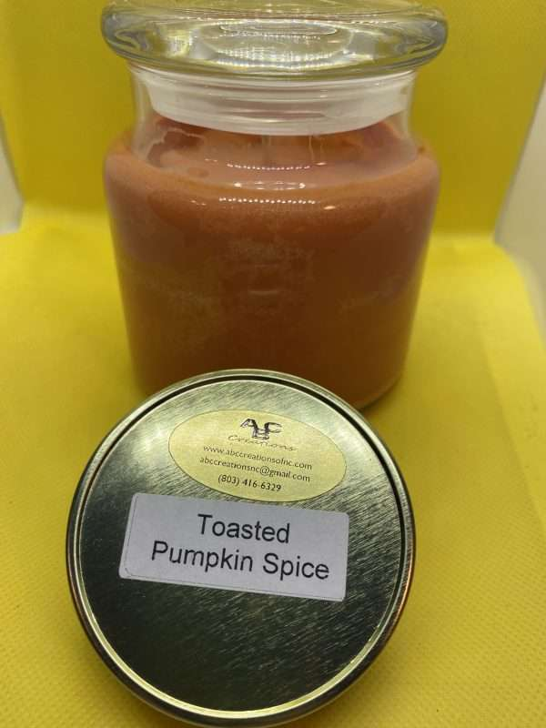 Toasted Pumpkin Spice Large Soy Candle